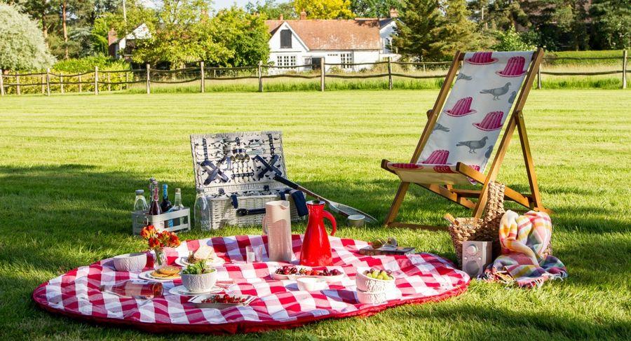 Picknick Garten Campingdecke Klappstuhl