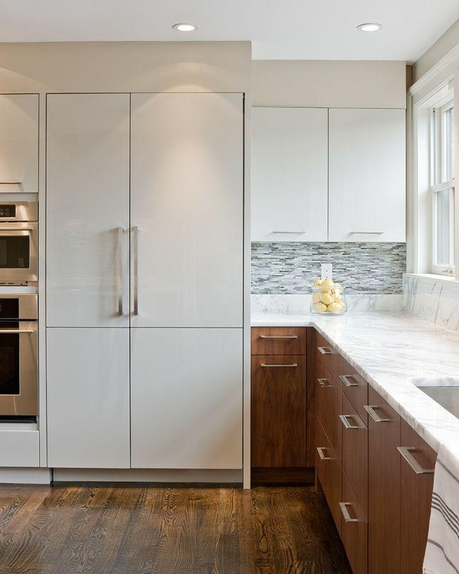 Poliert Marmor Arbeitsplatten Küche Holzboden
