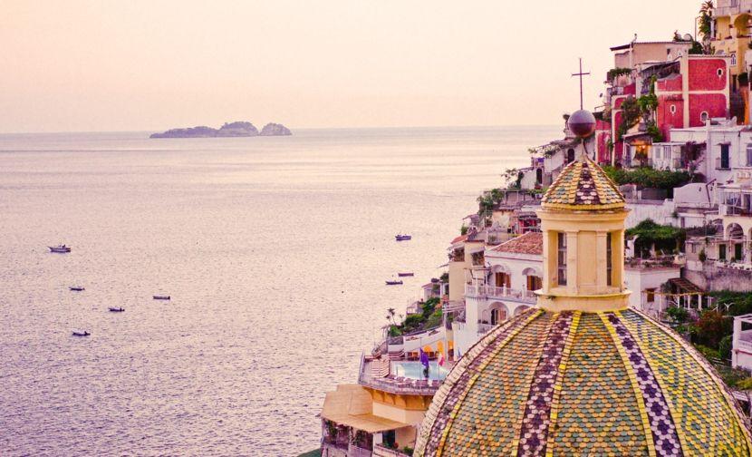 Positano Italien Sehenswürdigkeit Kuppel