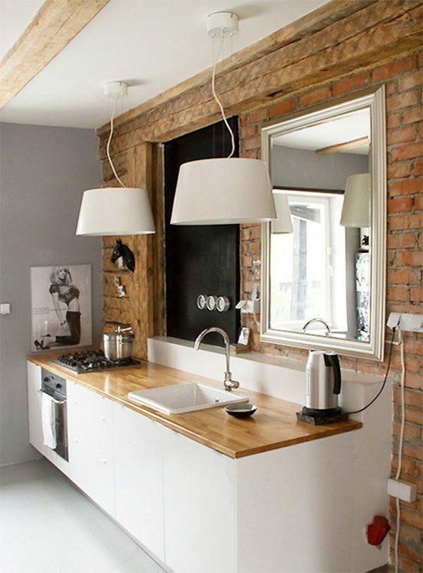 Positiv Energie Feng Shui Küche Spiegel