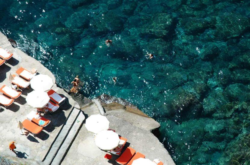 Privat Strand Amalfiküste Reisen Italien