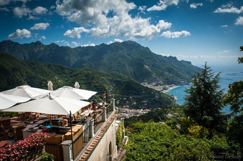 Ravello Italien Aussicht Meer