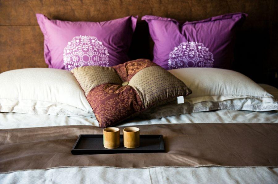 Schlafzimmer Atmosphäre entspannt Zen-Stil