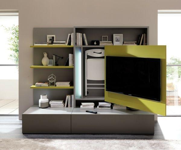 TV-Wand Fernsehmöbel mit Stauraum