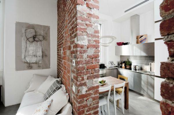 Trennwand Raumteiler kleine Küche