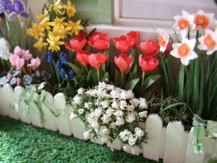 Zwiebelblumen im Garten schützen