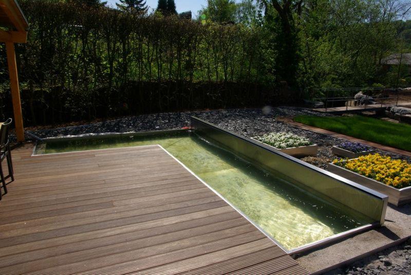 klare Linien und schlichte Formen in der Gartengestaltung