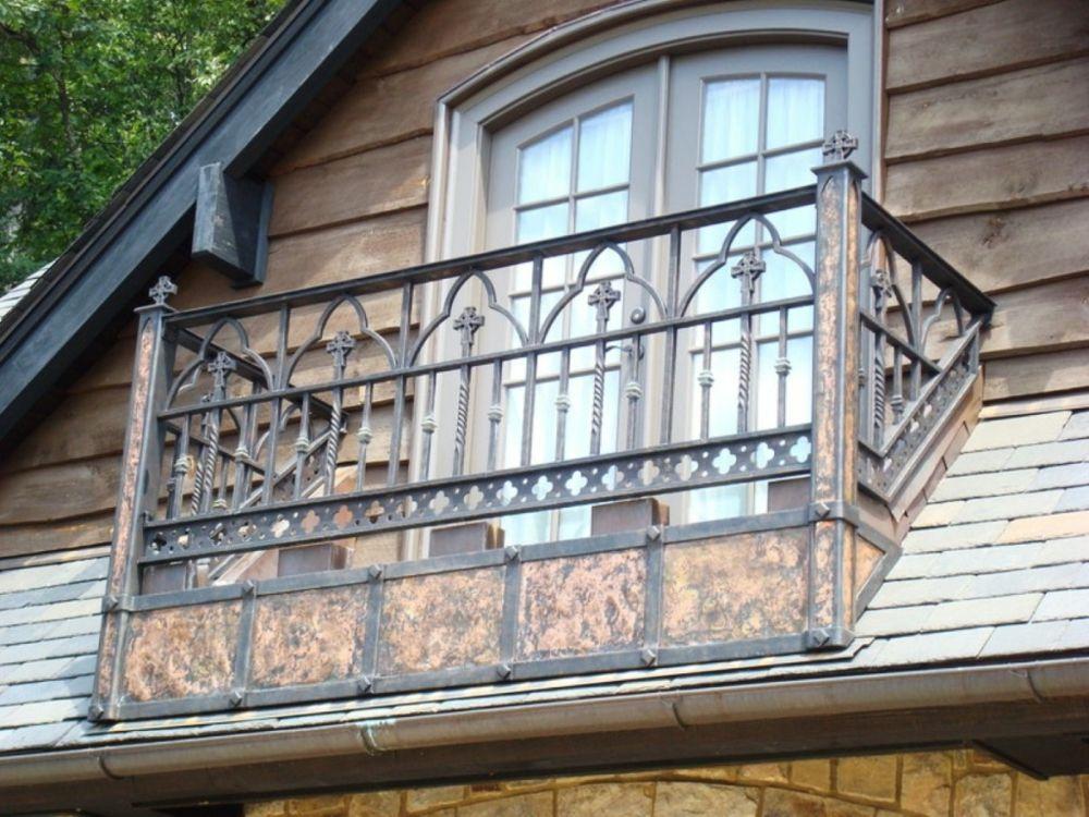 Brüstung Design dekorativ Eisen