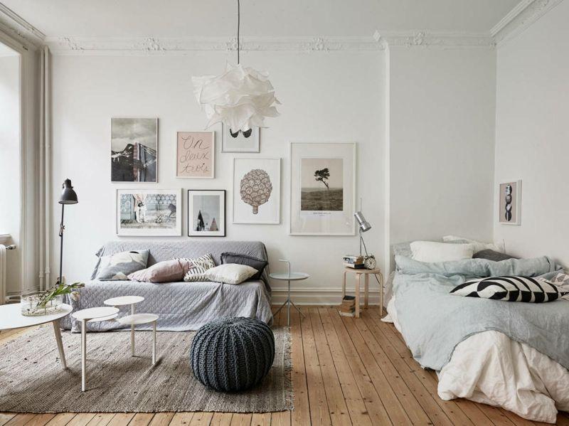 Cocooning mit Frühlingsfarben im Wohnraum