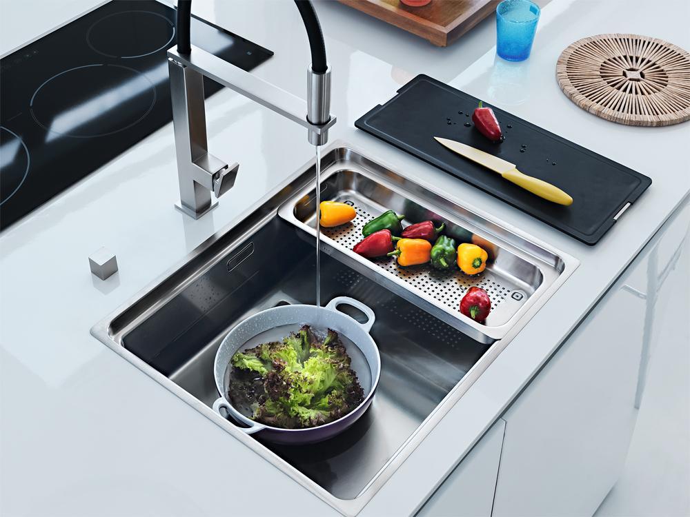 Das Spülbecken In Der Modernen Küche