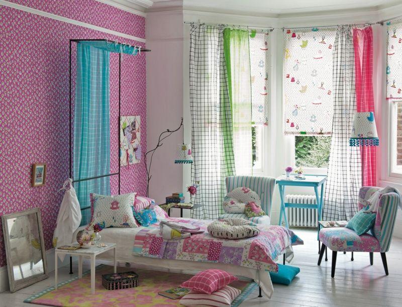 Dieses Schlafzimmer lädt zum Frühlingsträumen ein