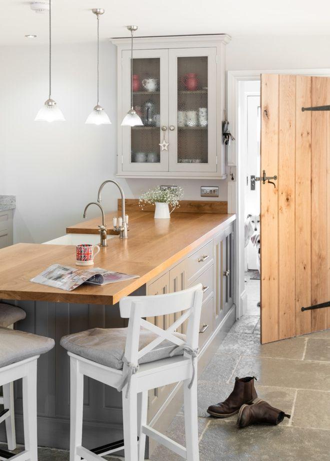 Englischer Stil Wohnidee Küche Rustikal
