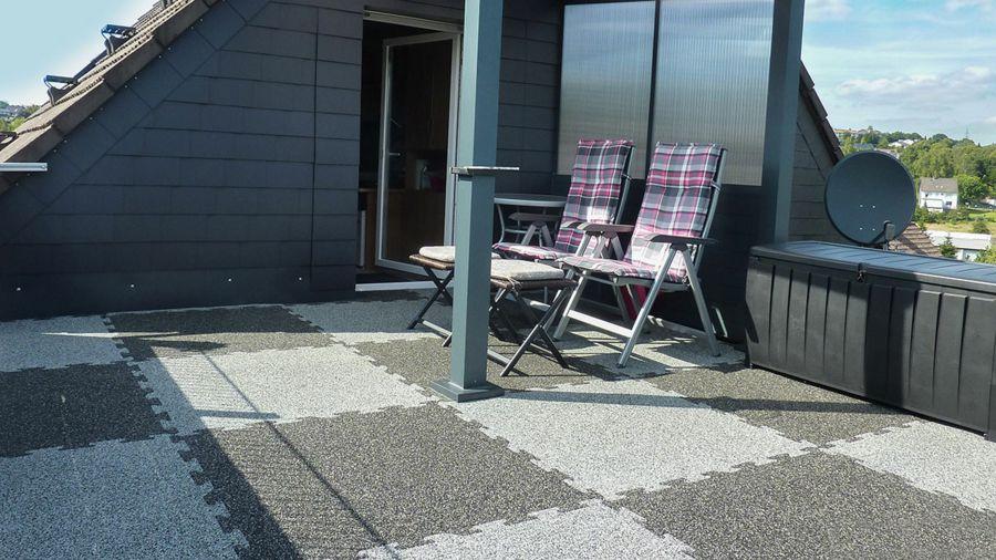 Fliesen Modern Terrasse Betonoptik Außenanwendung
