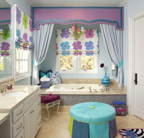 Frühlinghaftes Badezimmer Design
