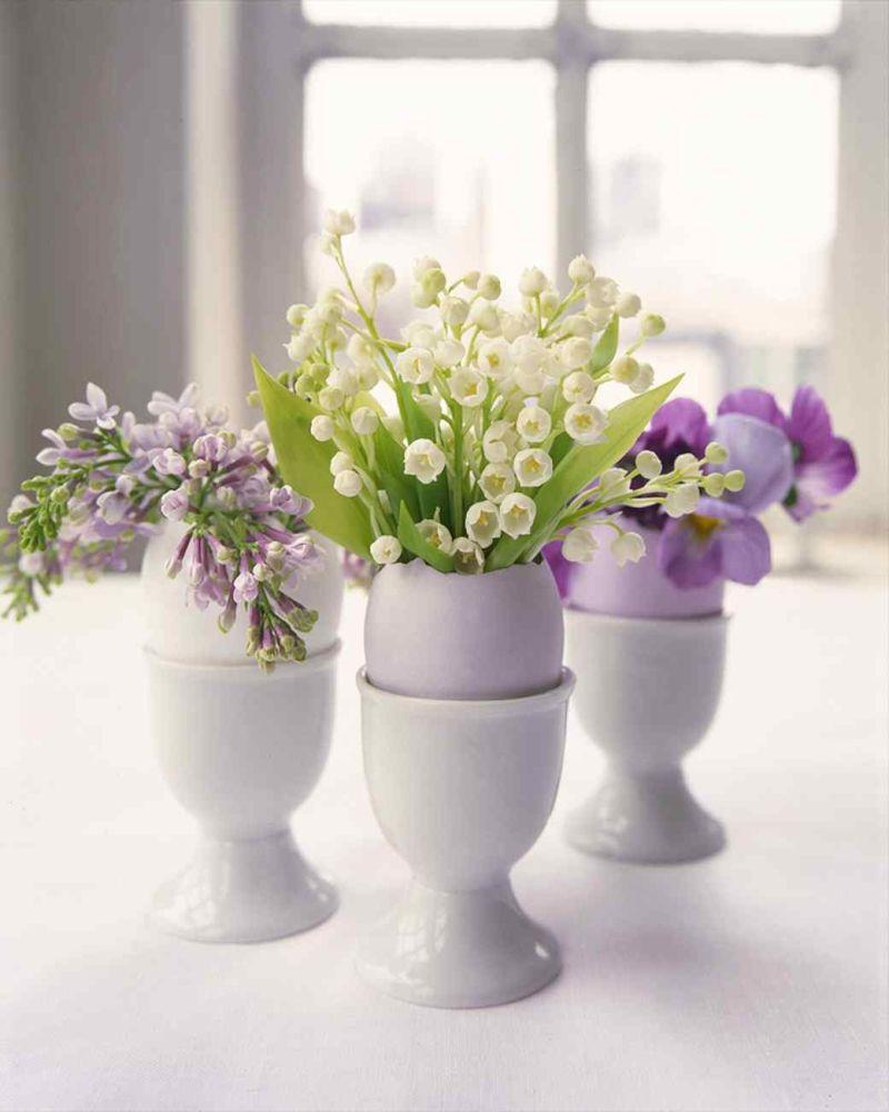 Frühlingsdeko zuhause ohne Blumen ist undenkbar
