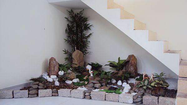 Garten Landschaft im Haus Blocksteine Gartenfiguren