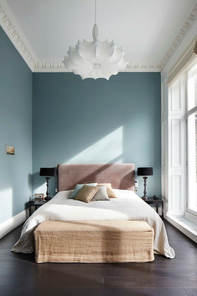 Harmonisch Schlafzimmer Grau blau Beige