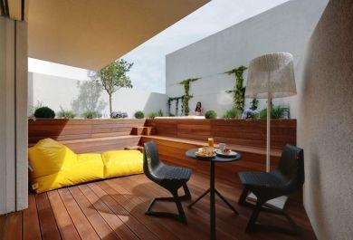 Bodenbelag Fur Balkon Und Terrasse Holz Beton Oder Stein