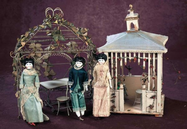 In der Vergangenheit waren Puppenhäuser echte Kunstwerke