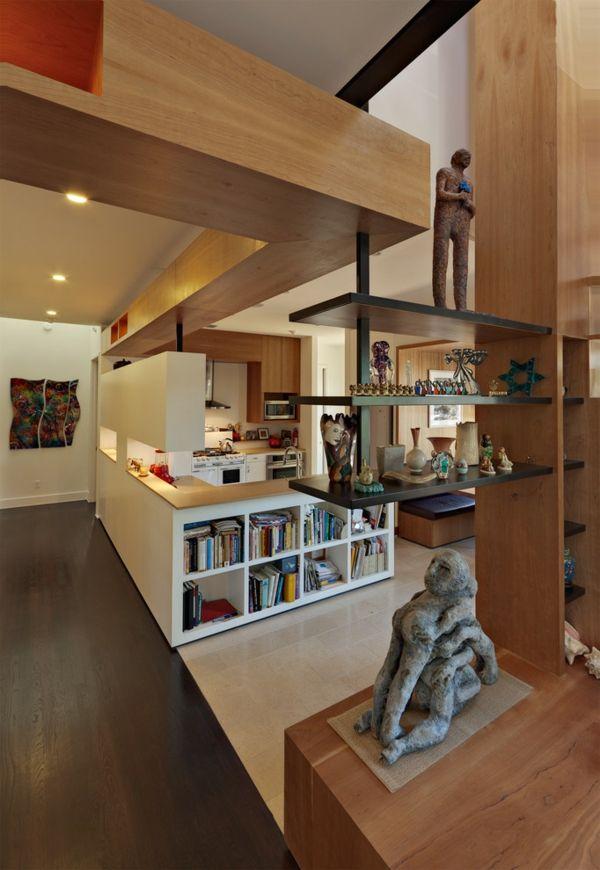 Küche Wohnbereich klassisch traditionell Bauhaus Stil