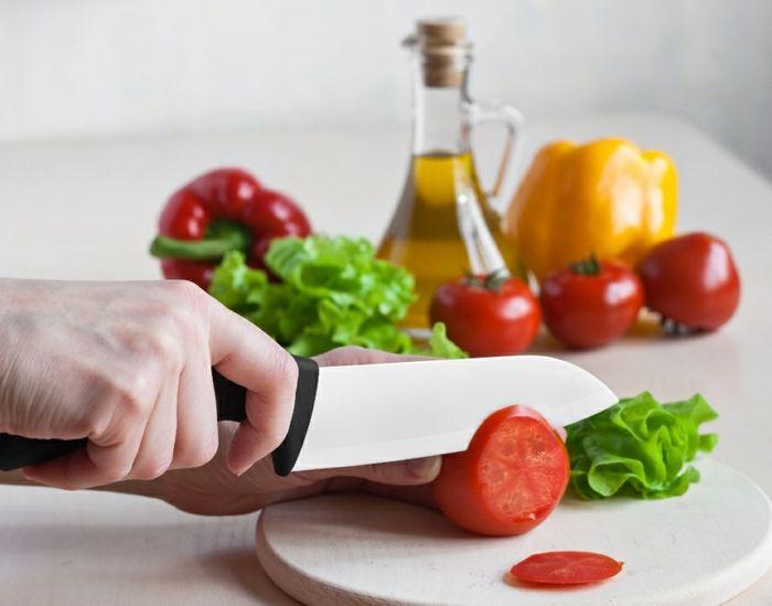Küchenhelfer praktisch Keramikmesser geruchsneutral