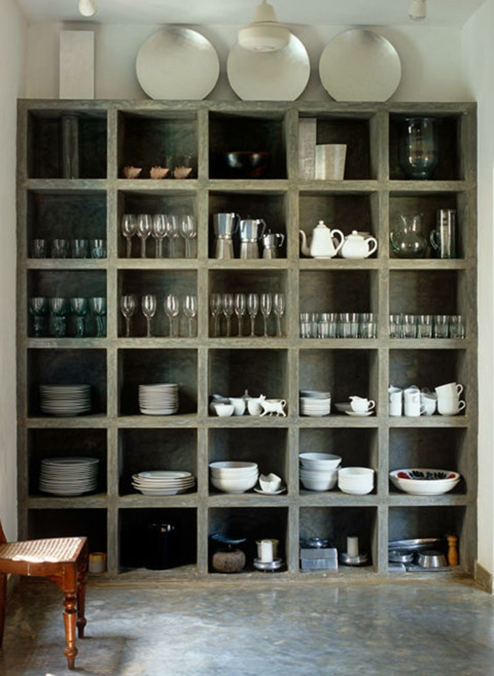 Küchenzubehör Utensilien vorgesehenen Platz
