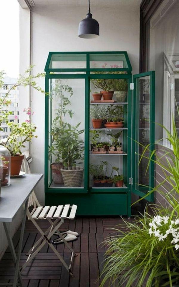 Kreativ mit Pflanzen auf dem Balkon kann doch jeder sein-deko ideen für balkon terrasse