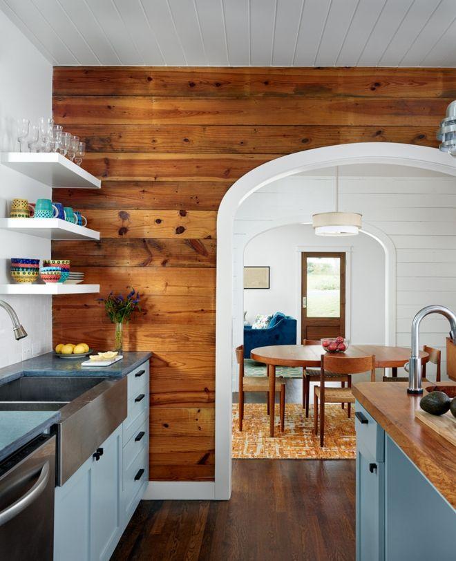 Offen Küche im Ferienhaus Altholz