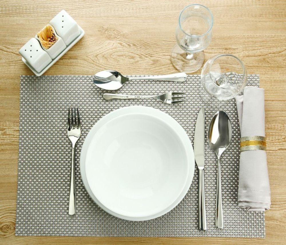 Porzellan Geschirr hochwertig Tisch Dekoration Tischset
