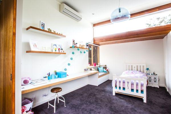 Regalbrett Schreibtisch geradlinig Kinderzimmer