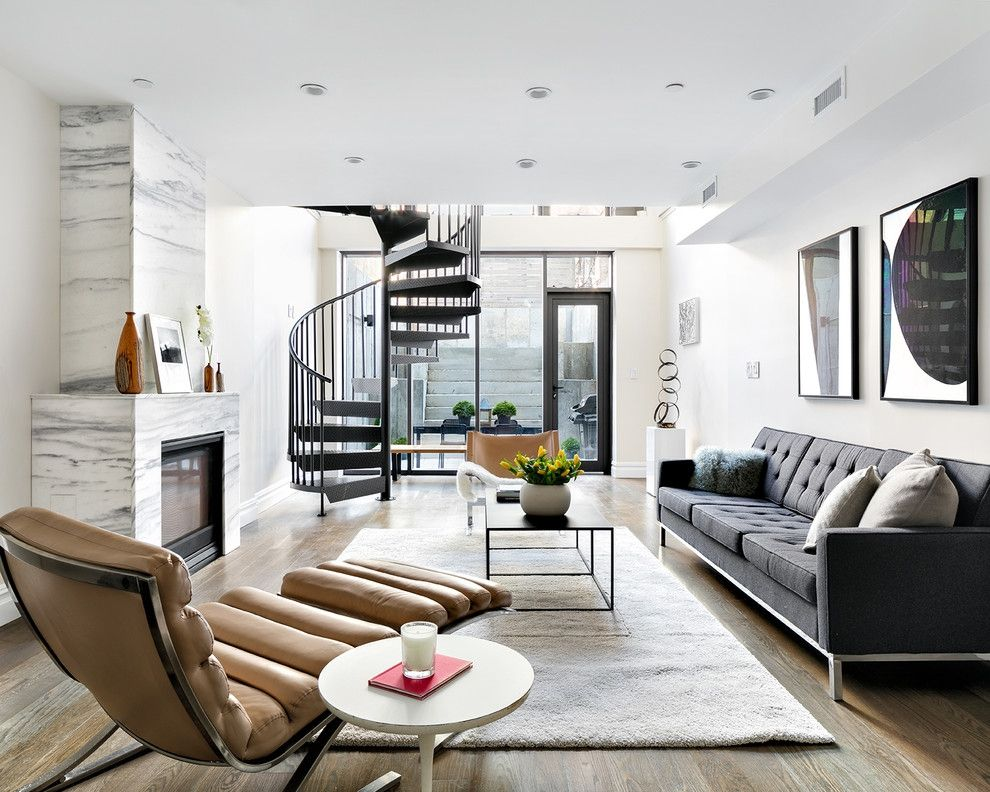 Retro Wohngefühl modern luxuriös Wohnzimmer