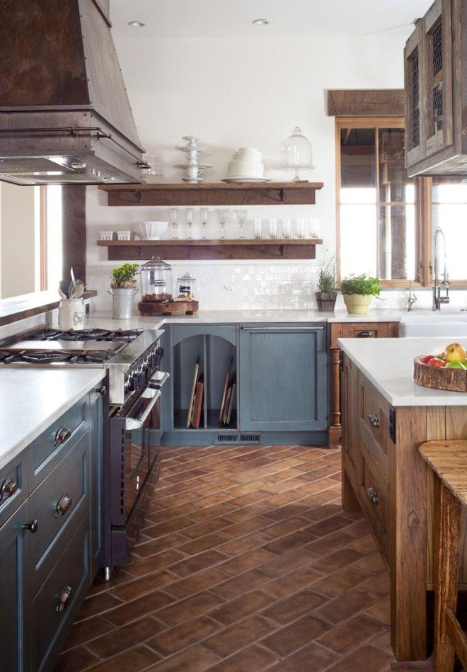 Rusitkal Küche Naturmaterialien Holzfronten