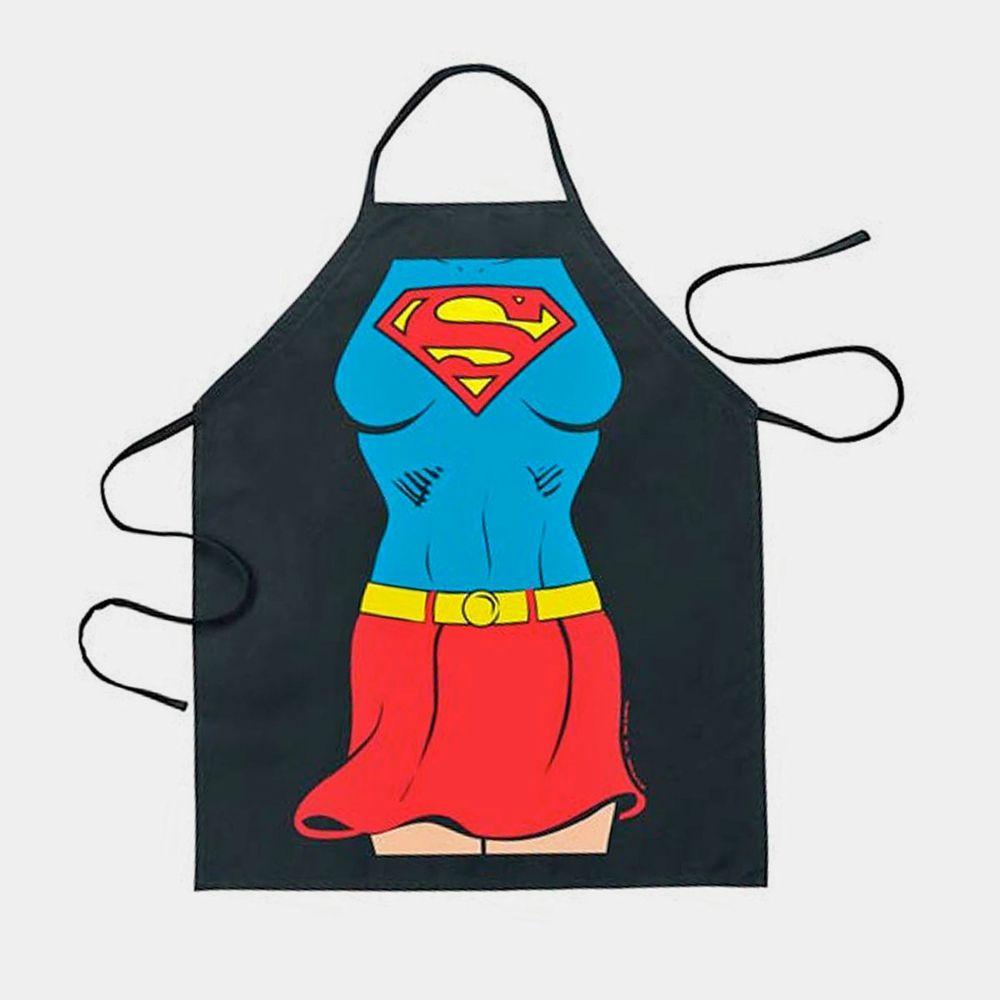Schürze Charakter Supergirl Barbeque