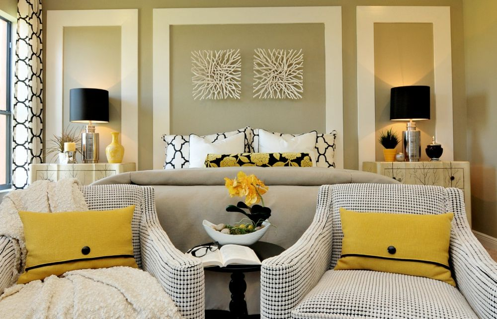 Schlafzimmer Dekorationen Accessoires Verzierungen