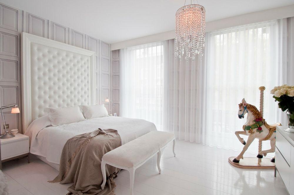 Schlafzimmer Rückzugsort hell weiß ruhig