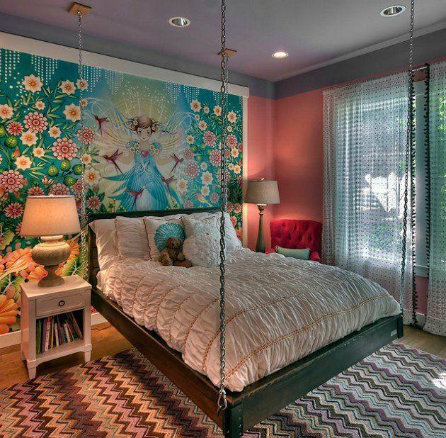 Schlafzimmer Vintage Hängebett Design