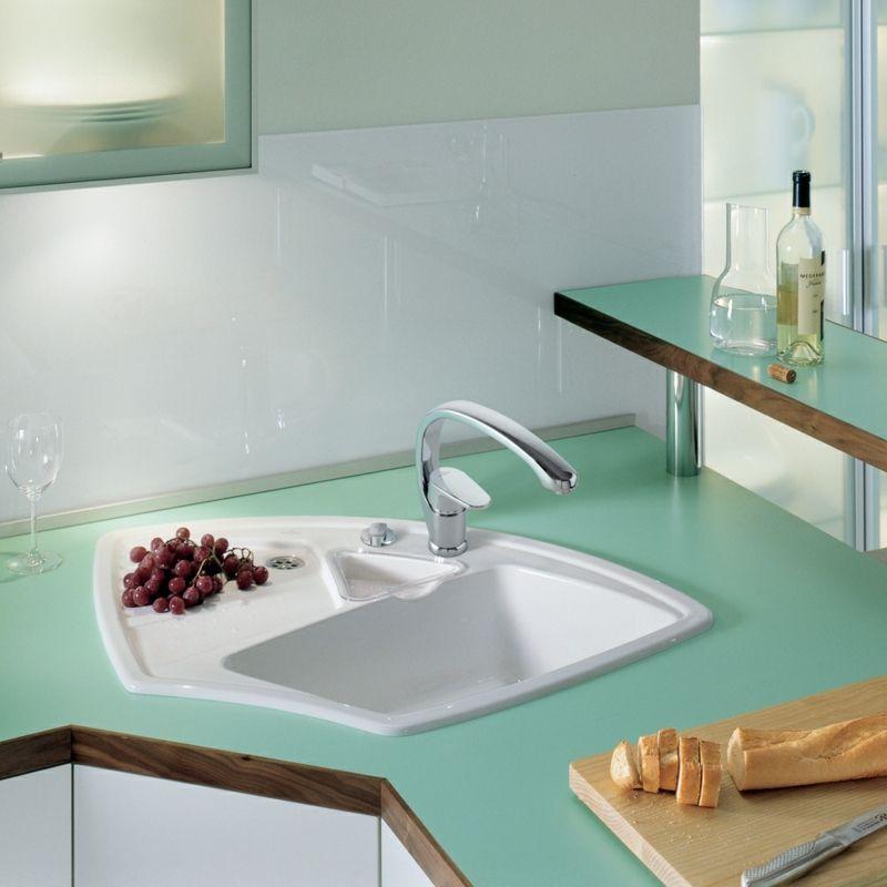 Spülbecken für die kleine aber moderne Küche