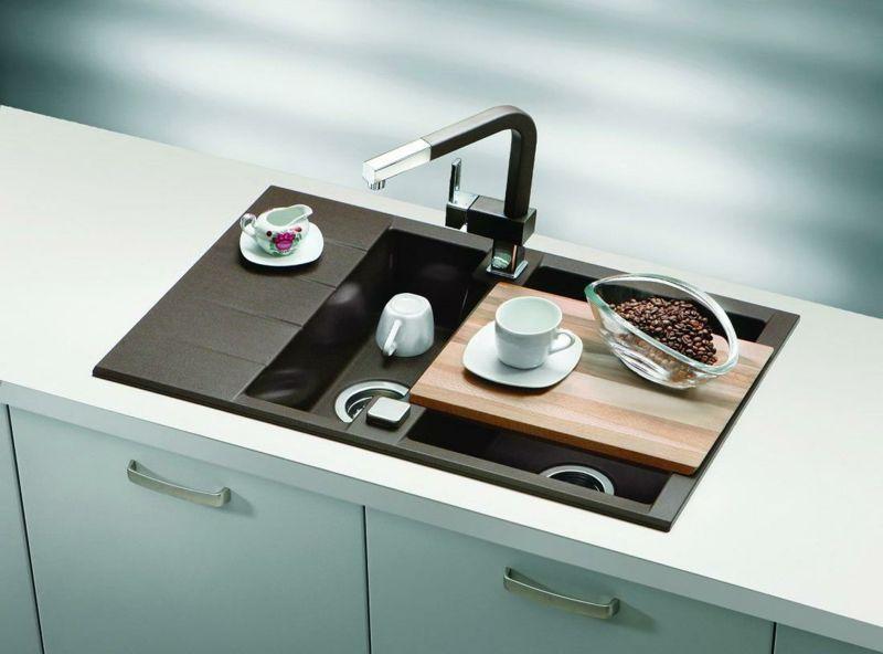 Stilvolle Spüle für die moderne Küche