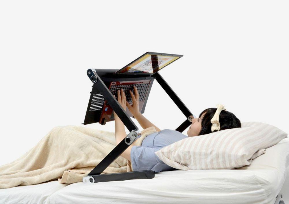 Super Gorone Desk Schreibtisch Laptophalter ausklappbar Bett