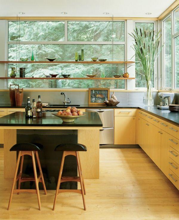 Wandregale frei schwebend flexibel Ordnung Küche