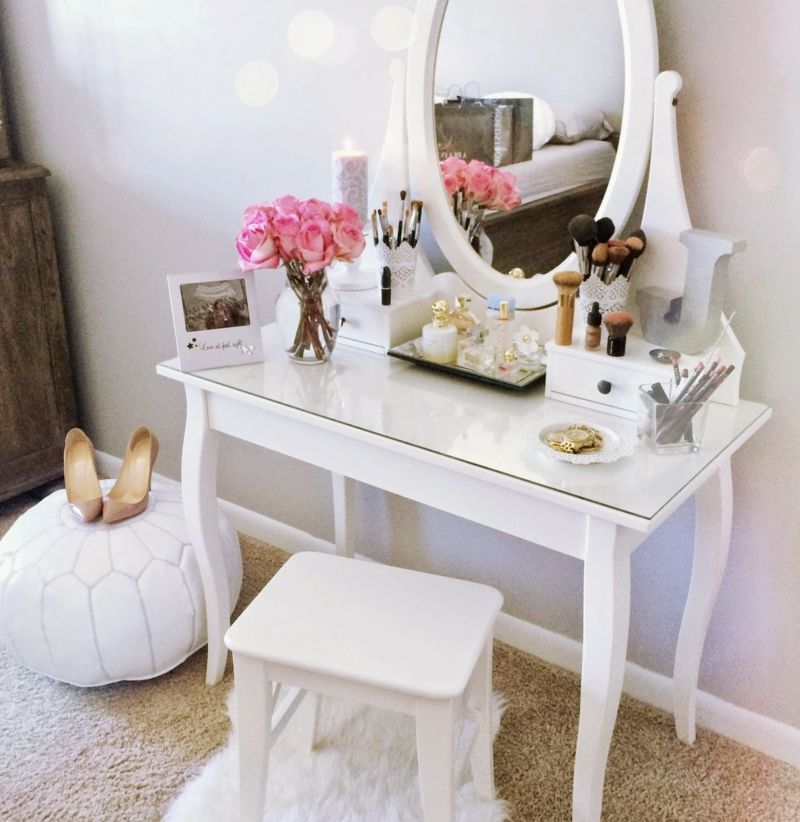 Weiße Möbel sorgen für Weite und Klarheit in den Räumen