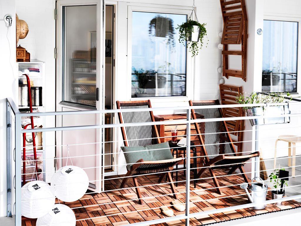 15 Wohnbeispiele von der Gestaltung kleiner Balkone - Trendomat.com
