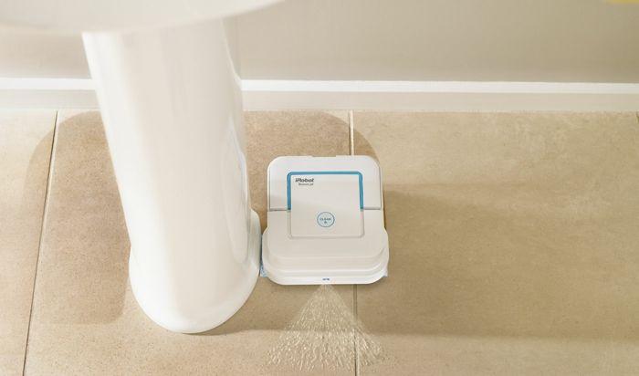 Badezimmer reinigen putzen iRobot's Braava Jet