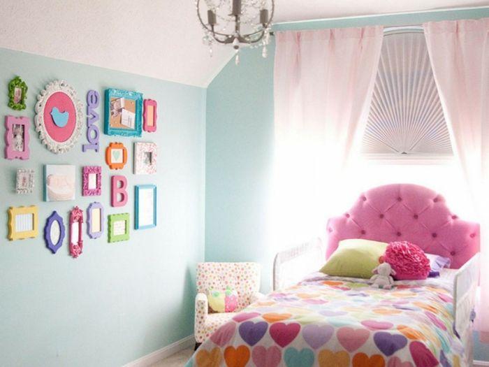Betwäsche fürs Kinderzimmer mit Herzenmotiven