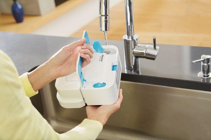 Braava Jet Wasser füllen