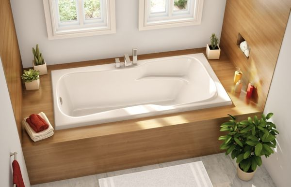 Das Interieur im Bad mit Pflanzen verschönern und beleben