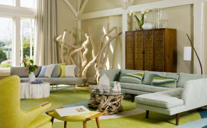 Die Anordnung der Möbel im Raum verlangt viel Feingefühl