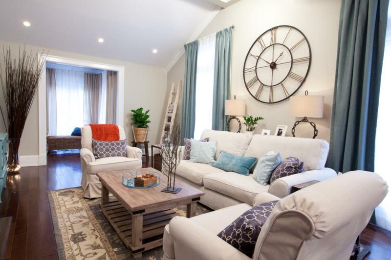 Die Möbel in der Wohnung sollten den positiven Energiefluss unterstützen