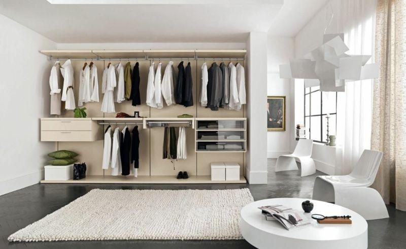 Diese Schrankwand kann wesentlich mehr aus nur Kleidung aufbewahren