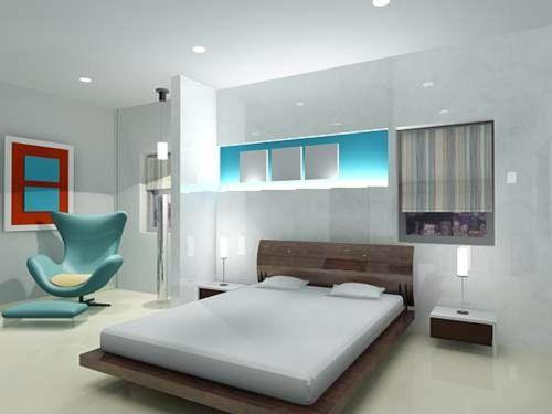Enspannende Farben für das Feng Shui Schlafzimmer